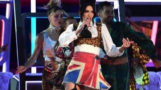 Dua Lipa bei den Brit Awards 2021 (Foto: picture-alliance / Reportdienste, Picture Alliance)
